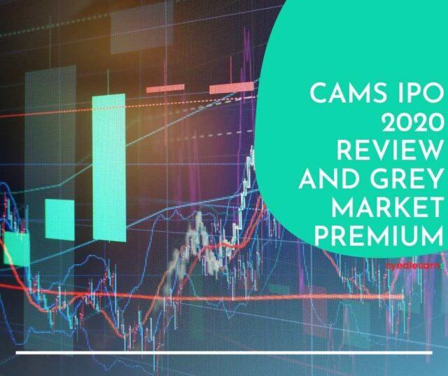 cams ipo grey market price