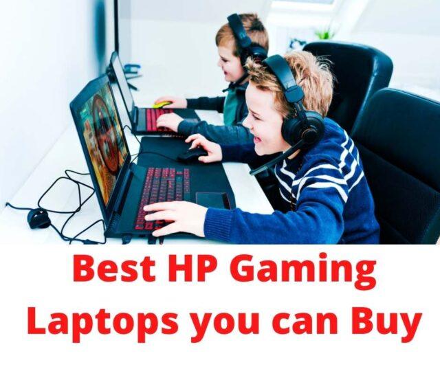 hp gaming laptop, best gaming laptop for hp, gaming laptops