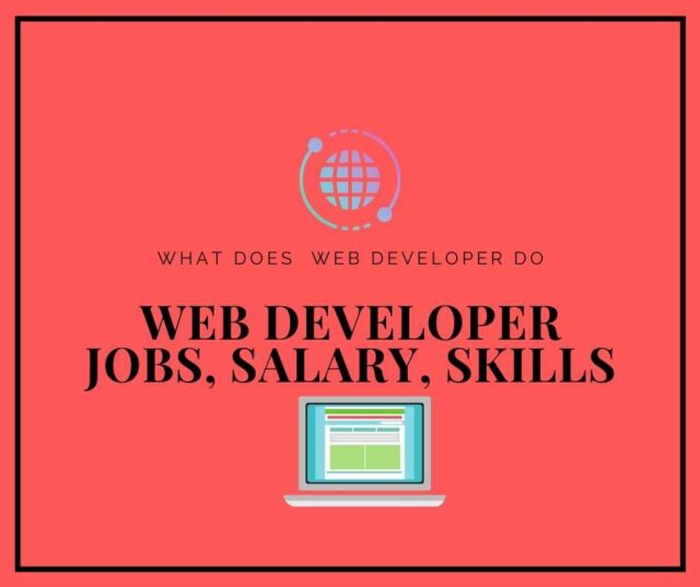 web developer, web developer jobs, web developer salary