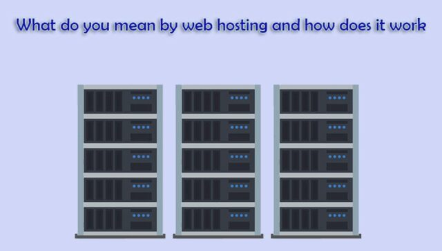 web hosting and how does web hosting works