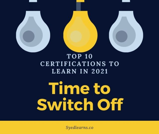 top 10 certification courses in 2021