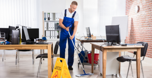 OFFICE CLEANING COMPANY SERVICES