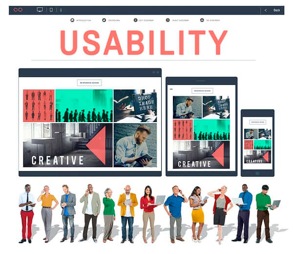 Usability Of The Website