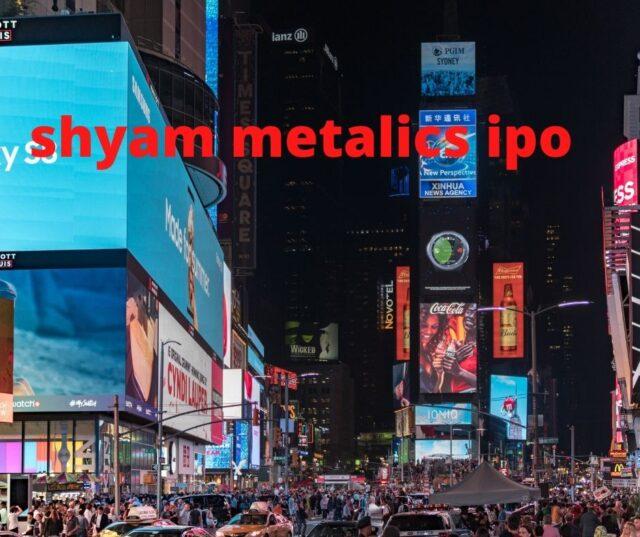 Shyam Metalic IPO Allotment Status
